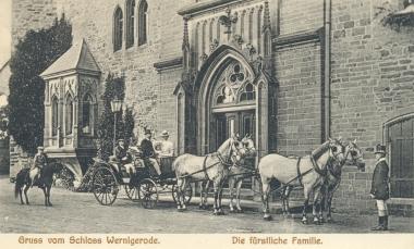 Die fürstliche Familie - Stadtarchiv Wernigerode PK I 0019