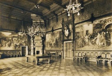 Festsaal des Schlosses - Stadtarchiv Wernigerode