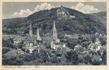 Blick auf Wernigerode - Stadtarchiv Wernigerode