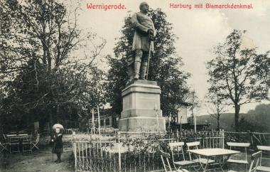 Bismarck-Denkmal auf der Harburg - Stadtarchiv Wernigerode