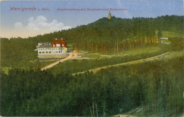 "Berghotel ""Armeleuteberg"" - Stadtarchiv Wernigerode"