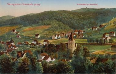 Blick auf Hasserode - Stadtarchiv Wernigerode