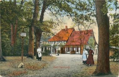 Bad Hasserode (Anfang 20. Jahrhundert) - Stadtarchiv Wernigerode