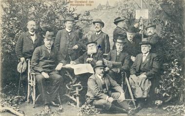 Vorstand des Harzklubs - Stadtarchiv Wernigerode