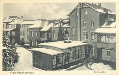 Krankenhaus Wernigerode - Stadtarchiv Wernigerode