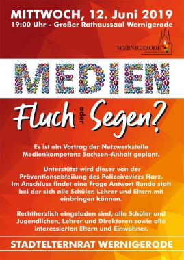 Plakat Stadtelternrat - Winnie Zagrodnik