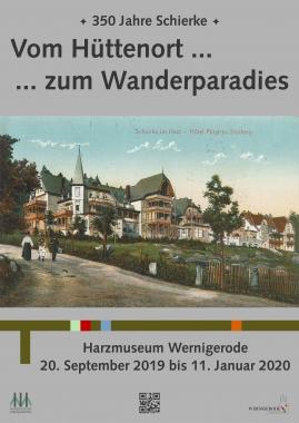 Postkartenmotiv mit dem Hotel Fürst zu Stolberg - Harzmuseum