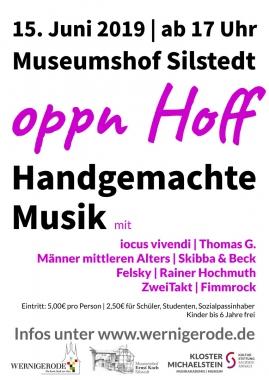 "Plakat ""oppn Hoff"" - Winnie Zagrodnik"