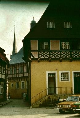 Rathaus um 1985 - Stadtarchiv Wernigerode