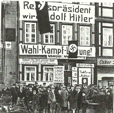 ehemalige Geschäftsstelle der NSDAP - unbekannt