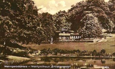 Gasthaus Christianental - Stadtarchiv Wernigerode PK VI/21