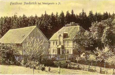 Forsthaus Hundsrück - Stadtarchiv Wernigerode PK VI/240