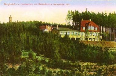 "Berghotel ""Armeleuteberg"" - Stadtarchiv Wernigerode PK VI/61"