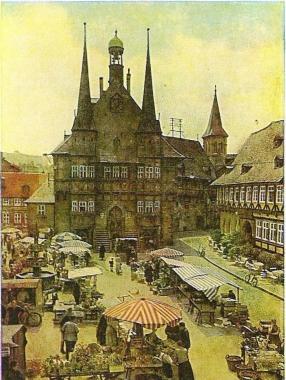 Markttag in Wernigerode - Stadtarchiv Wernigerode PK/II/176