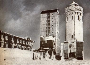 Der Brocken vor der Bombardierung - Gerhard Bombös