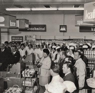 HO-Kaufhalle IlsenburgerStraße - Stadtarchiv Wernigerode (Archiv Dieter Möbius)