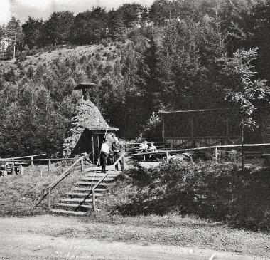 """Köhlerhüttenanlage am """"Eisergrund"""" - Stadtarchiv Wernigerode (Archiv Dieter Möbius)"""