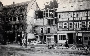 Bombenschäden in Wernigerode - Stadtarchiv Wernigerode