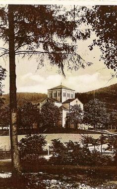 Die alte Hasseröder Kirche. - Stadtarchiv Wernigerode PK VII/17