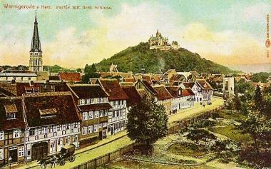 Partie mit dem Schloss - Dieter Oemler