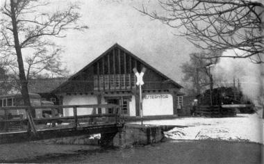 Westerntorbahnhof Februar 1960 - Gerhard Bombös