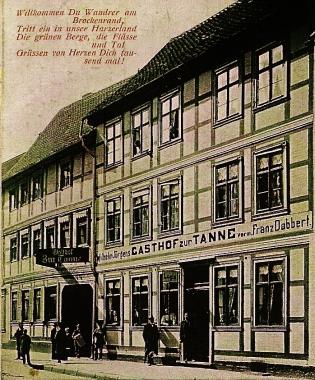Gasthof zur Tanne - Stadtarchiv Wernigerode PK/IV/235