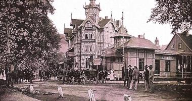 Hotel Monopol und Haltestelle Westerntor - Stadtarchiv Wernigerode PK/IV/206