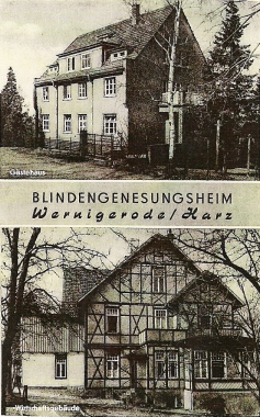 Blindengenesungsheim Wernigerode - Stadtarchiv Wernigerode PK IV/63