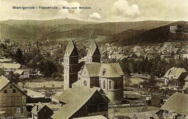Neoromanische Marienkirche in Hasserode - Stadtarchiv Wernigerode V/161