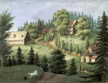 Schierke 1830 - Fotothek Harzbücherei