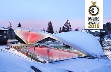 Schierker Feuerstein Arena erhält German Design Award 2019 - Winnie Zagrodnik