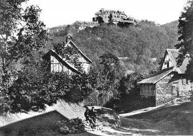 Schlossblick um 1860 - Dieter Oemler