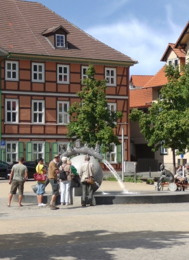 Brunnen von Bernd Göbel - Dieter Oemler