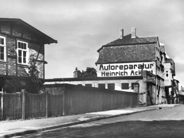 KFZ-Firma Ackert in der Ringstraße - Dieter Oemler