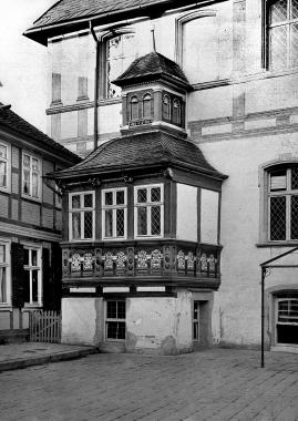 Alter Platz des Bürgermeister-Erkers vor den Umbaumaßnahmen in den Jahren nach 1936 - Dieter Oemler
