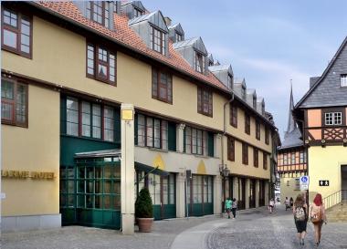 """Das sanierte und wesentlich erweiterte Hotel """"Gothisches Haus"""" - Dieter Oemler"""
