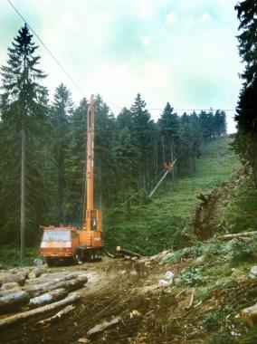 Die Technik hält Einzug in die Bewirtschaftung der Harzwälder. - Dieter Oemler