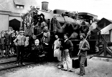 Walpurgisnacht mit der Brocken-Bahn - Dieter Oemler
