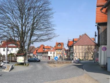 Standort des ehemaligen Dullenturms - Dieter Oemler