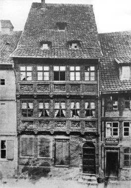 Krummelsches Haus Ende 19. Jahrhundert - Dieter Oemler