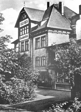 "FDGB-Ferienheim ""Brockenblick"" um 1950 - Dieter Oemler"