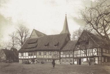 Teichdamm vor 1895 - gemeinfrei