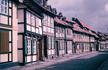 Hinterstraße - Stadtarchiv Wernigerode