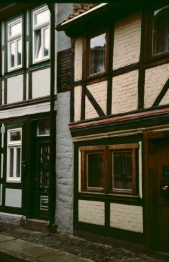 Brandmauer - Stadtarchiv Wernigerode