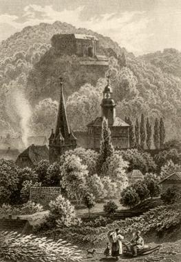 Liebfrauenkirche um 1888 - Fotothek Harzbücherei