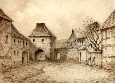St. Johannistor - Stadtarchiv Wernigerode