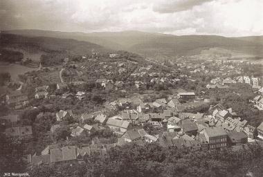 Blick von der Schlossterasse1891 - gemeinfrei