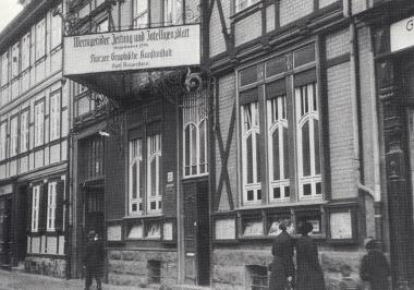 Das alte Geschäftshaus der WZ in der Westernstraße 23. - Gerhard Bombös