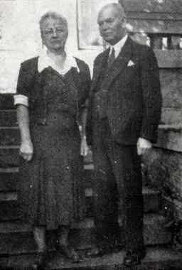 F. L. Brasche und Ehefrau - Gerhard Bombös