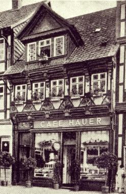 """""""Cafe Hauer"""", später """"Cafe Wien"""" - gemeinfrei"""